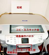 図1 複合機(EPSON PM-A850)を購入し、オフィスの片隅に設置