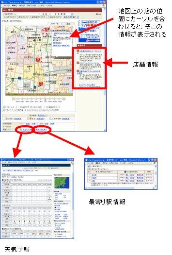 図表5 周辺情報もすぐにわかる