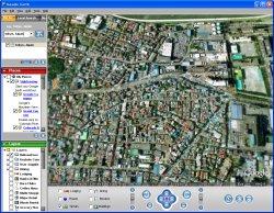 図表4 Google Earth・ほぼ真上から
